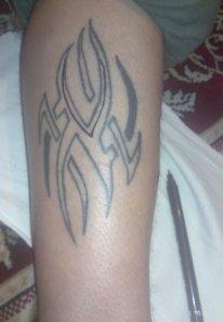 Primul tatuaj facut de mine